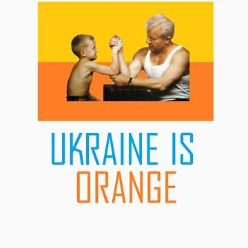 Ukraine is Now Orange by crazyhorse