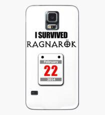 I Survived Ragnarök 22 February 2014 Case/Skin for Samsung Galaxy