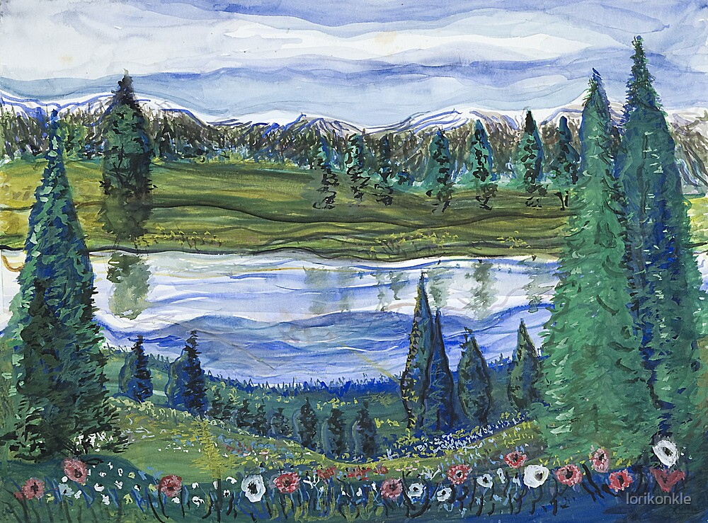 Northwest Reflection by lorikonkle