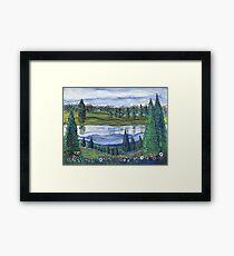 Northwest Reflection Framed Print
