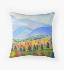 Autumn Sunday Throw Pillow