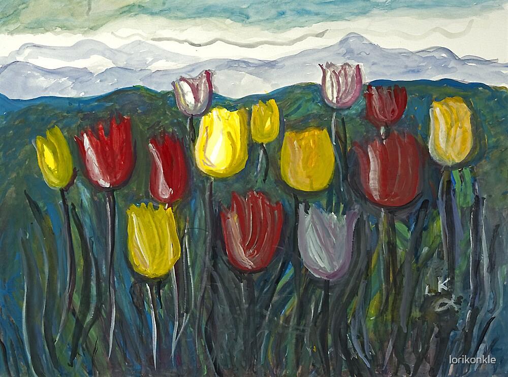 Tulip Lookout by lorikonkle