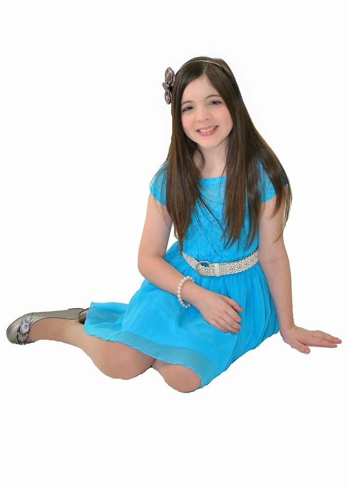 Ten year old girl by Ian McKenzie
