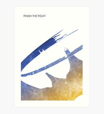 Finish the Fight Art Print