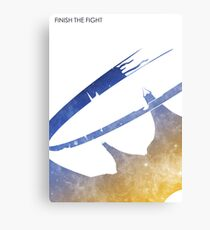 Finish the Fight Canvas Print
