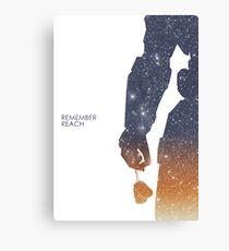 Remember Reach Canvas Print