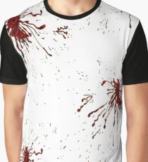 Blood & Bullet wounds Graphic T-Shirt