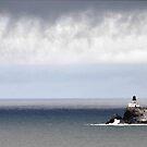 Tillamook Rock Lighthouse by Bob Hortman