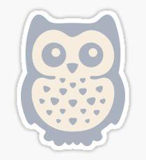 Dusk Pastels Owl Sticker