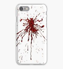 Blood & Bullet wounds iPhone Case/Skin