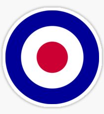Roundel of the Royal Air Force Sticker