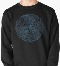 Wolf Celtic Knotwork Pullover