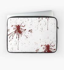 Blood & Bullet wounds Laptop Sleeve