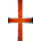 England Flag Grunge by sonicfan114