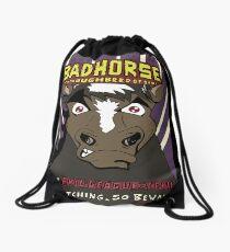 BAD HORSE Drawstring Bag