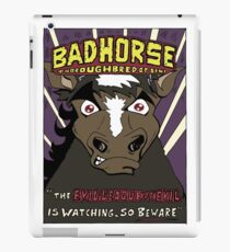 BAD HORSE iPad Case/Skin