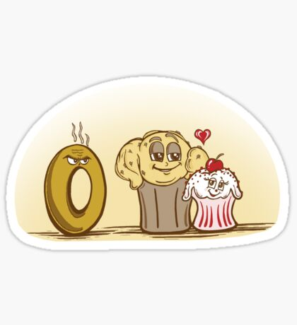 Hey Cupcake! Sticker