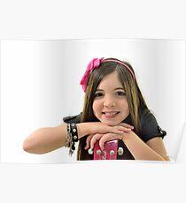 Ten year old singer/performer Poster