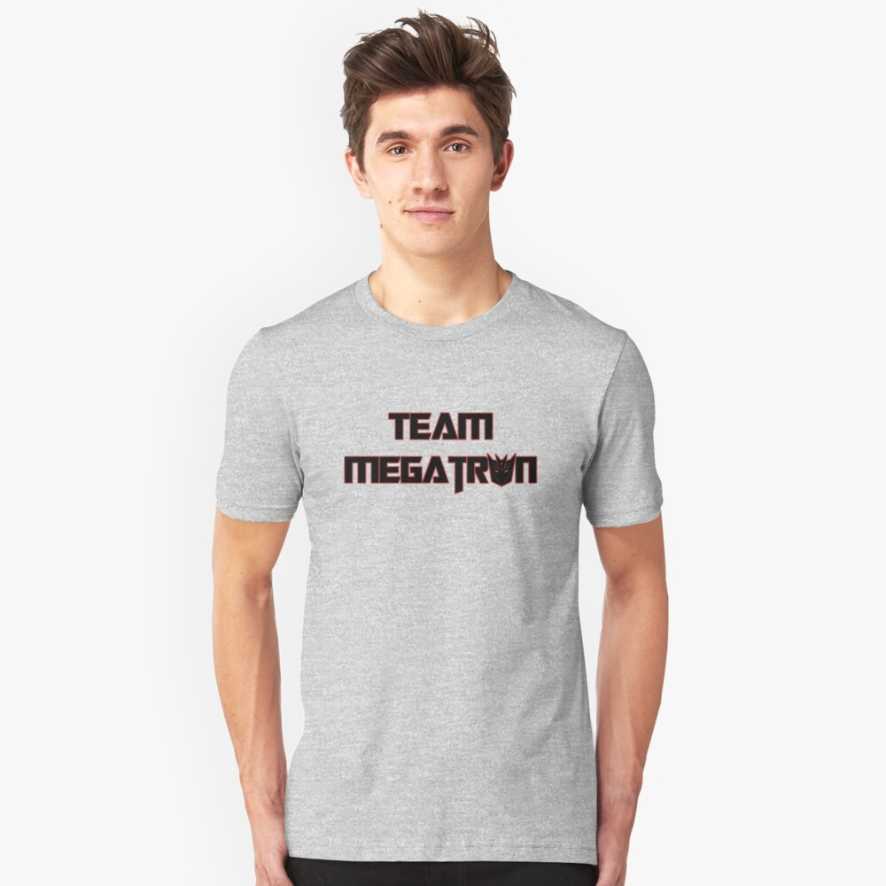 Team Megatron (black) Unisex T-Shirt