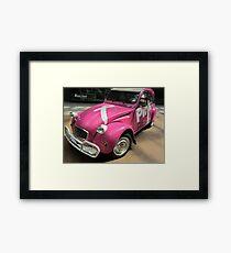 Pink Ribbon Framed Print