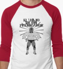 El Hijo De Un Predicador Men's Baseball ¾ T-Shirt