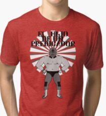 El Hijo De Un Predicador Tri-blend T-Shirt