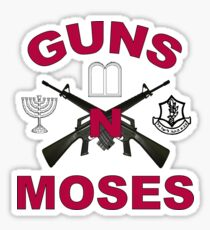 Guns 'n Moses Sticker