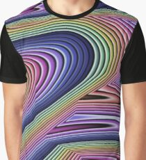 Rainbow Abstract Graphic T-Shirt