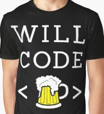 Will code for beer Graphic T-Shirt