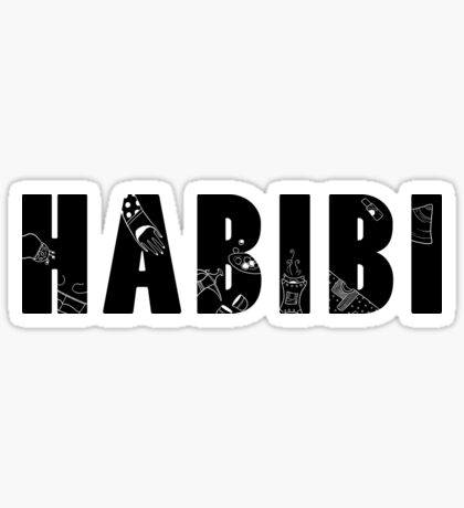 HABIBI 2 Sticker