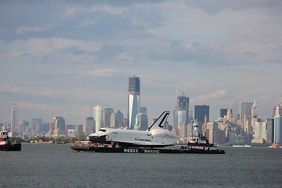 space shuttle enterprise/manhattan; 6/3/2012 by Kevin Koepke