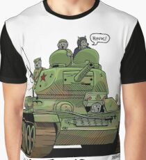 The Dogs of War: T34 Graphic T-Shirt