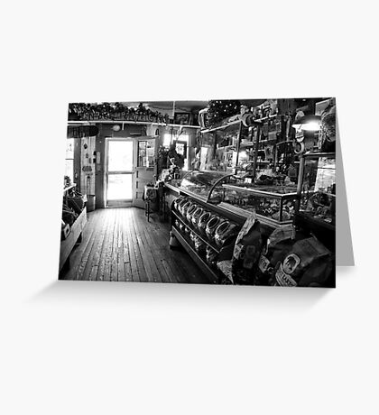 The Country Store Greeting Card