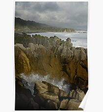 The Pancake Rocks Poster
