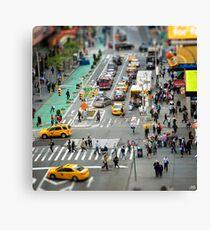 NYC City Tilt Shift Canvas Print