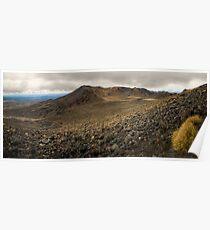 Volcanic Paradise, Mt Tongariro Poster