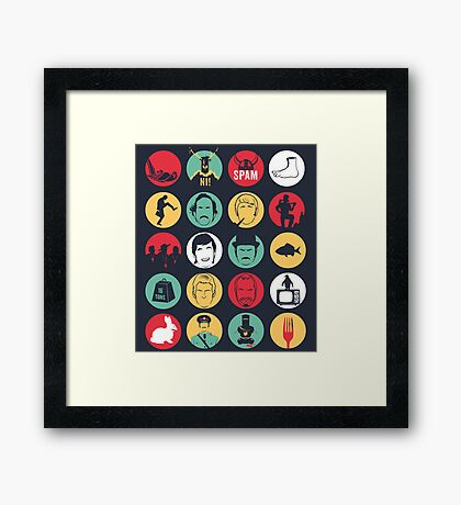 And Now for Something Completely Different  Framed Print