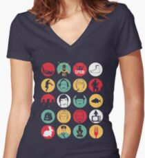And Now for Something Completely Different  Women's Fitted V-Neck T-Shirt