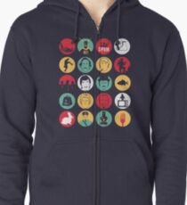 And Now for Something Completely Different  Zipped Hoodie