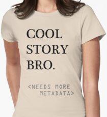Metadata matters Women's Fitted T-Shirt