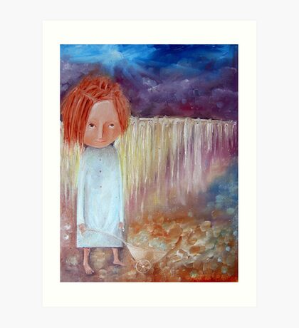 Tears Taker Art Print