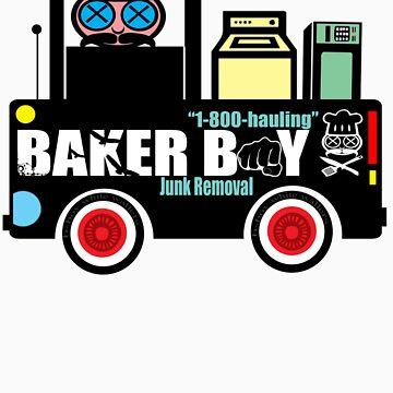 """""""B-BOY HAULING"""" by BAKERBOYTEEZ"""