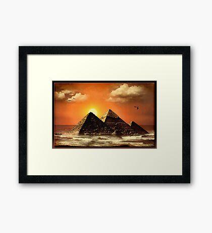 The Egyptian Ocean Framed Print