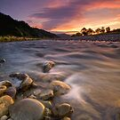 Hutt River Lenticular Clouds by Ken Wright