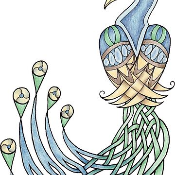 Celtic Peacock by skieborne
