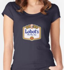 Lobot's Cloud City Lager Women's Fitted Scoop T-Shirt