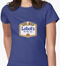 Lobot's Cloud City Lager Women's Fitted T-Shirt