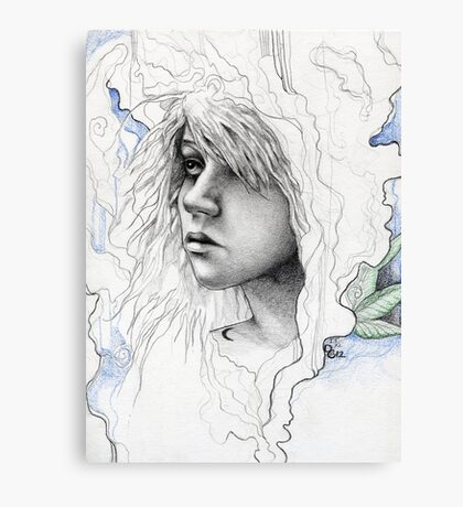 From the Pythia's Smoke Canvas Print