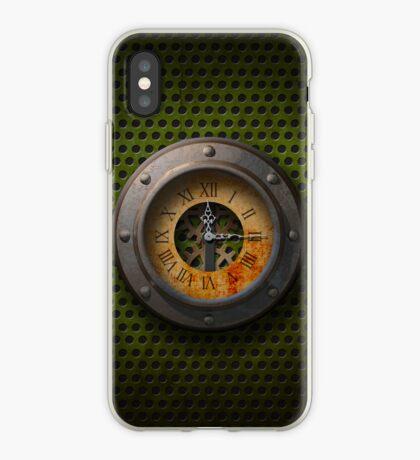 Steam Punk Clock - iPhone Case iPhone Case