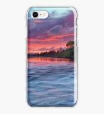Hutt River Red Warning iPhone Case/Skin
